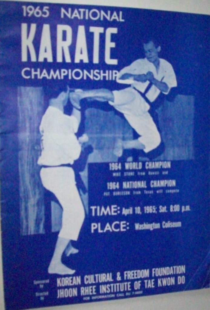 1965 National Karate Championship Program